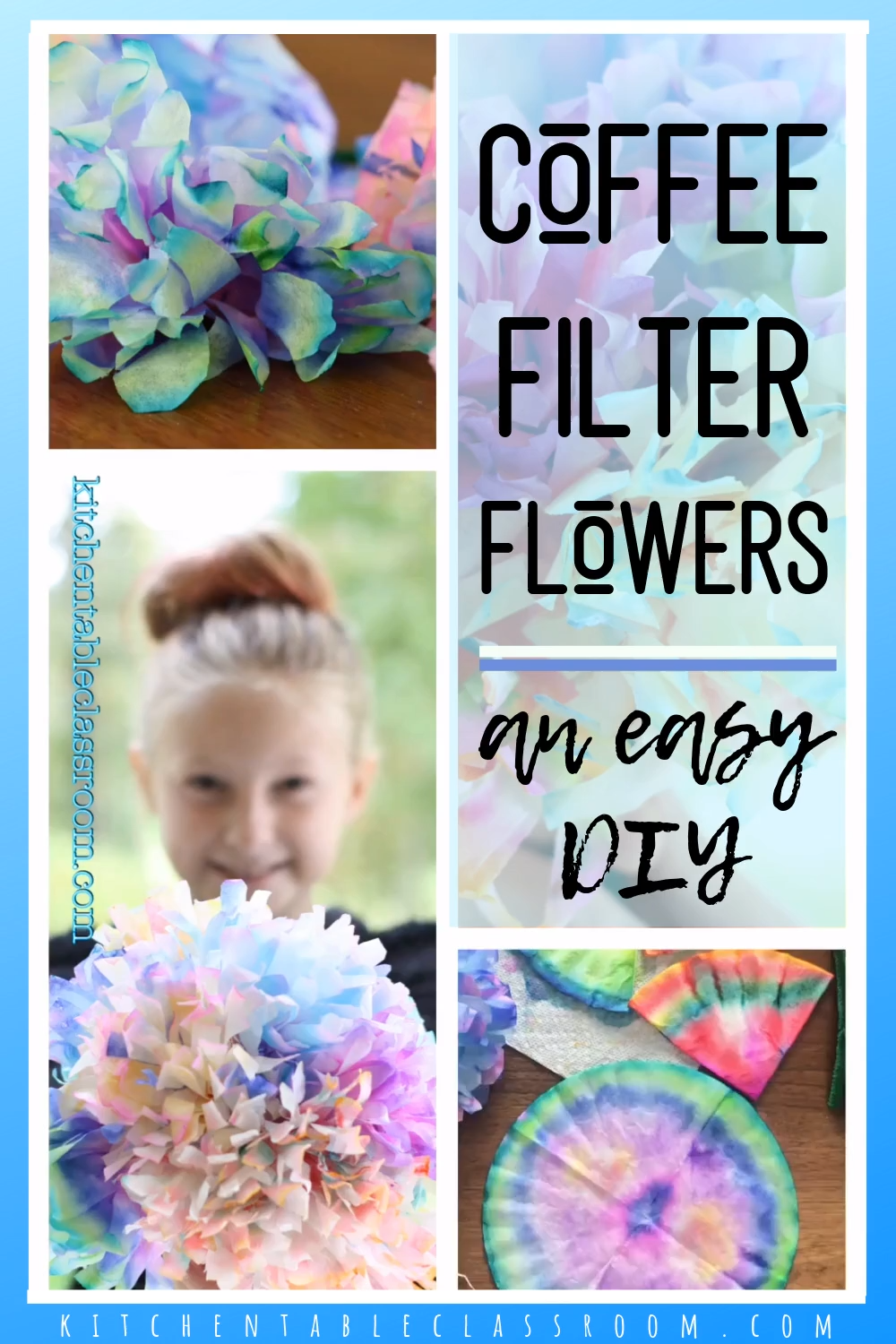 Photo of Coffee Filter Flowers