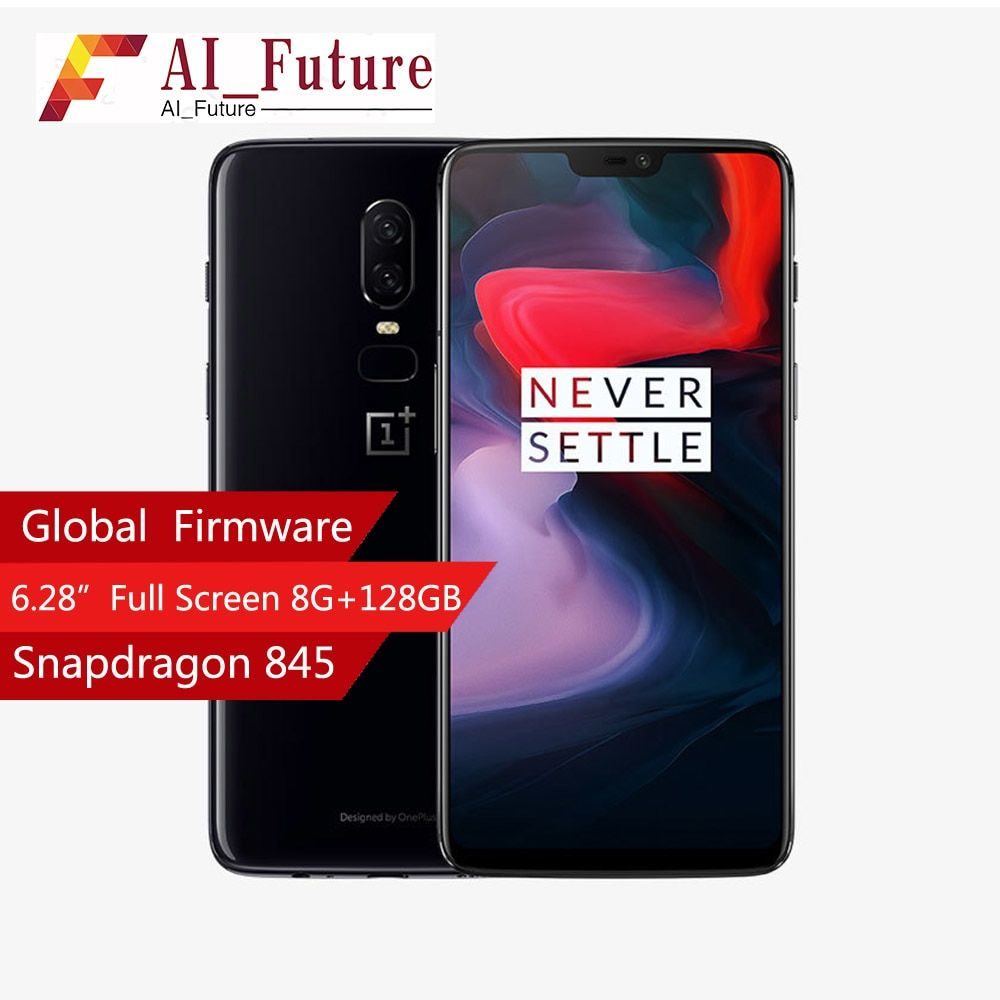 2018 Oneplus 6 Waterproof Mobile Phone 6 28inch Snapdragon 845 Octa Core Android8 1 Dual Camrea 20mp 16mp Nfc Waterproof Phone