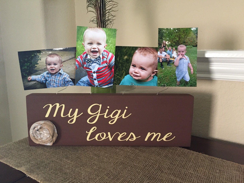 Gigi Christmas Gift Grandma Gift Frame Personalized Picture Frame ...