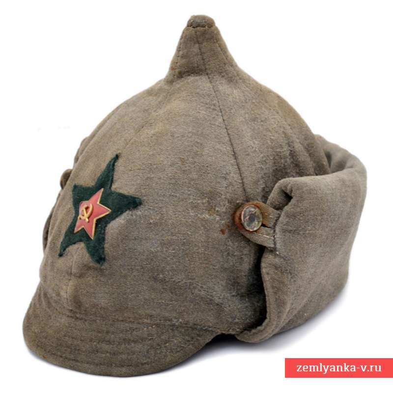 Winter Helmet Budenovka Of Enlisted Personnel Sample The Red Army In 1936 Ussr Buy For 368 In Military Antiques Zemlyanka Red Army Military Antiques Red