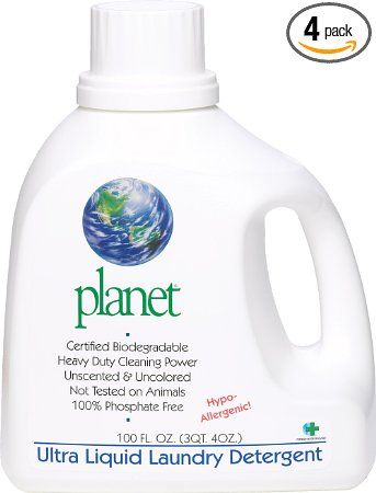 Planet Ultra Liquid Laundry Detergent 100 Fluid Ounce Bottles Pack Of 4 We Have Discovered That Katie Liquid Laundry Detergent Laundry Detergent Detergent