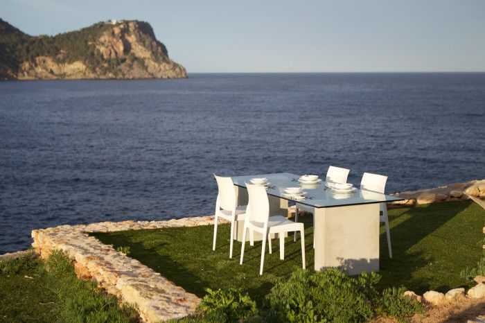 Available August: Seafront property Ibiza