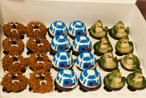 Star Wars Cupcakes With Images Star Wars Cupcakes Star Wars