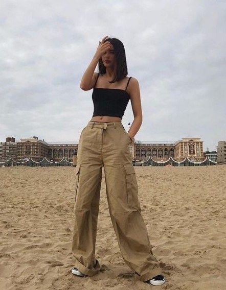 21 Cute Summer Crop Tops Outfits for Teens - Vivie