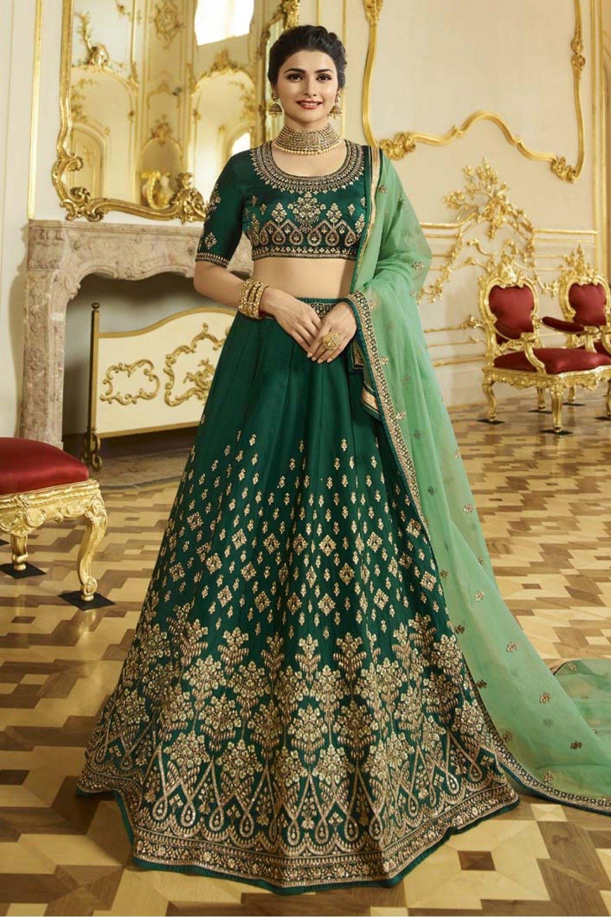 Heavy designer lehenga choli for women,green color wedding,bridal,party wear lengha sari,mahedi function ghagra choli for girls