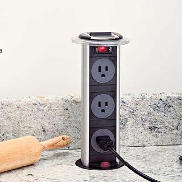 AMAZING!!!! Hidden pop up outlet | Smart Home Technology | Pinterest ...