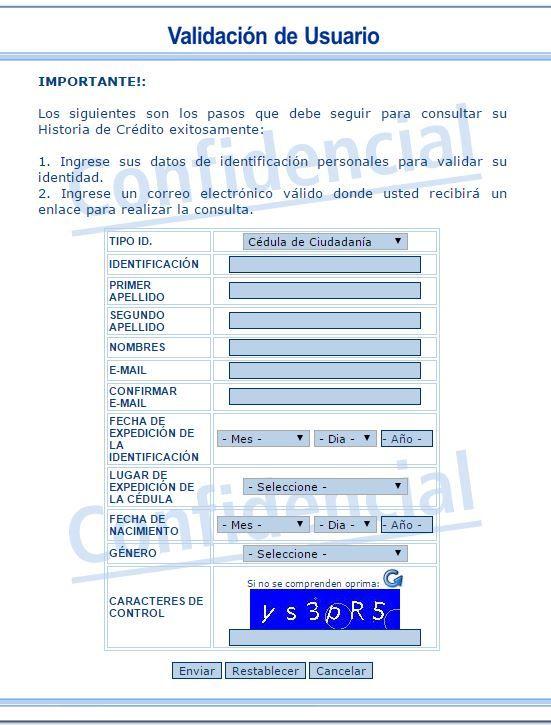 reporte datacredito | consultar datacredito | Pinterest ...