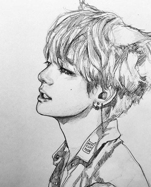 Kpop Arts ʕ•ᴥ•ʔ | Cómo dibujar cosas, Dibujo de fan art ...