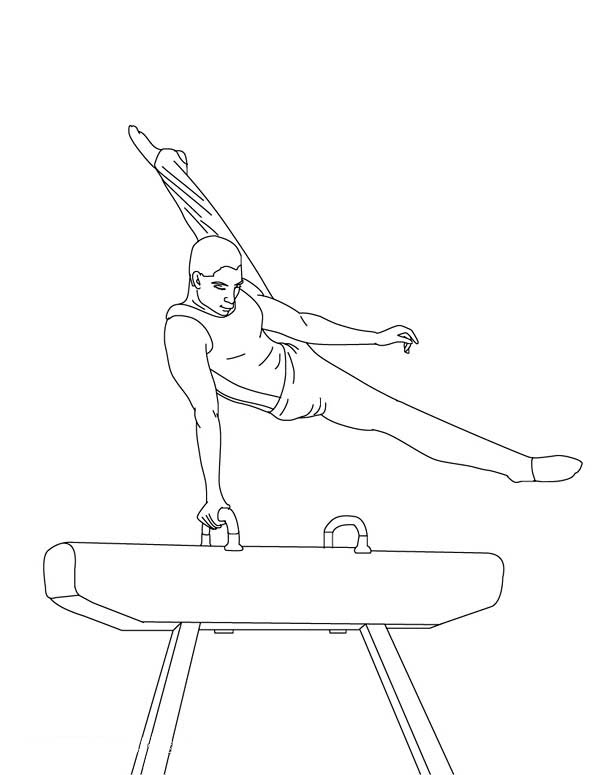 Awesome Balance Beam Gymnastic Coloring Page Download Print Online Coloring Pages For Free Color Nim Coloring Pages Online Coloring Pages Online Coloring