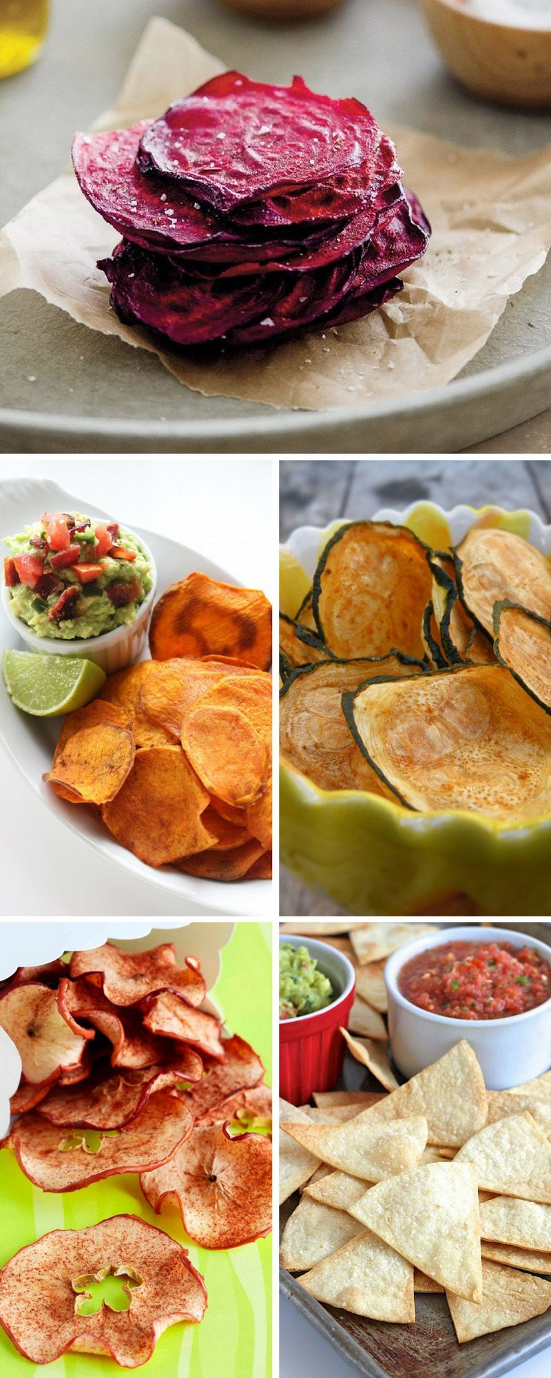 You can use vegetables and fruits and prepare them as chips. They will be just as much as crispy and delicious as the potato chips, with the…