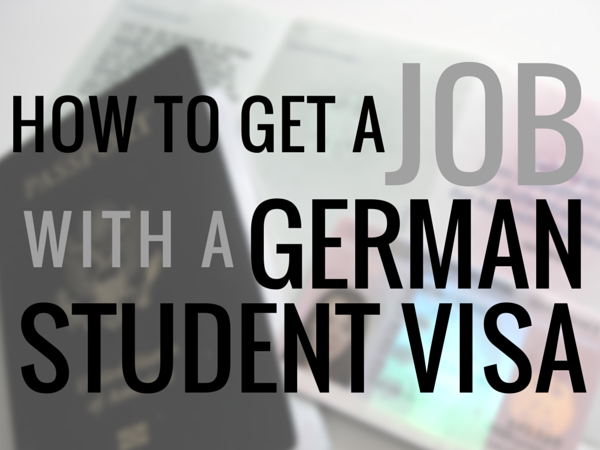 How To Get A Job In Germany As An American