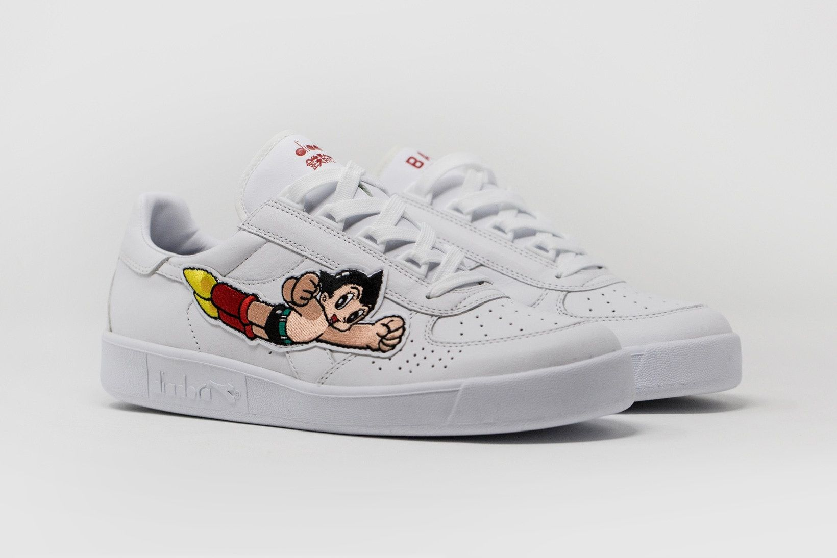premium selection 999f0 2f468 Astro Boy Teams up With BAIT and Diadora for a B.Elite ...