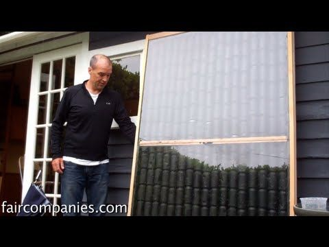 Building a solar heater with recycled cans – *faircompanies