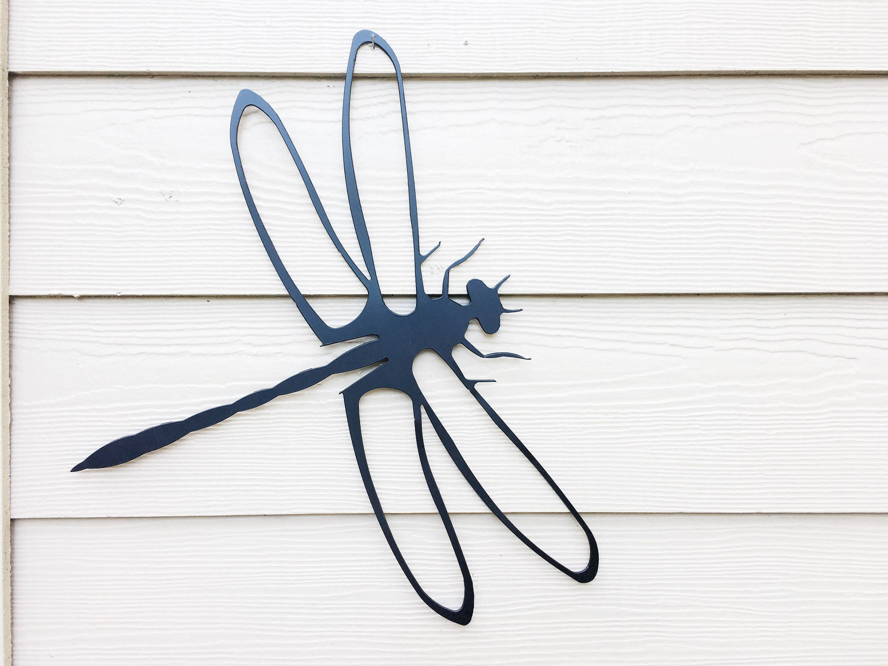 Dragonfly Wall Art   Metal Dragonfly   Metal Sign   Dragonfly Lover    Dragonfly   Metal