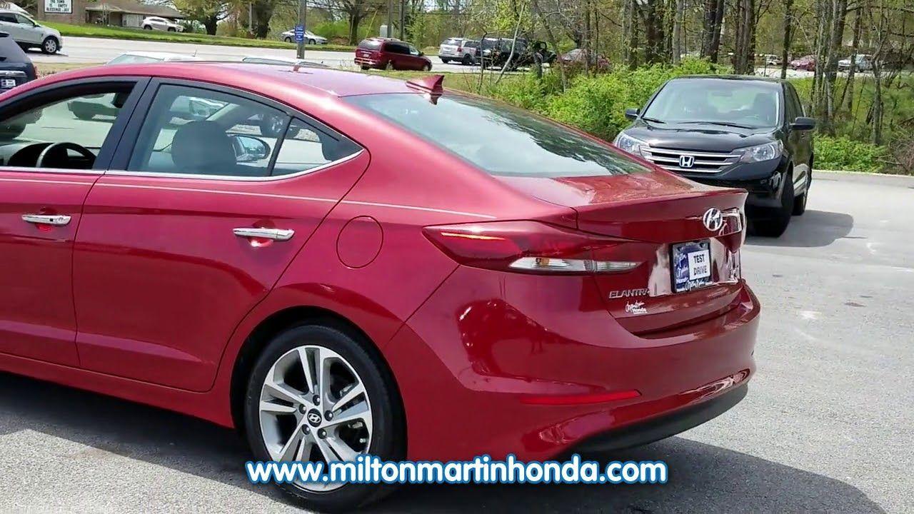 Used 2017 Hyundai Elantra Limited 2 0l Auto Ulsan At Milton Martin Honda K4400 Hyundai Elantra Elantra Hyundai