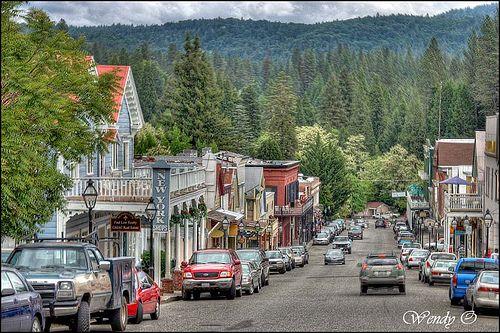 Nevada City Ca By Wendyophoto Via Flickr Sierra Nevada Mountains Nevada City Sierra Nevada