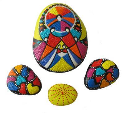 Peace2 - stone art