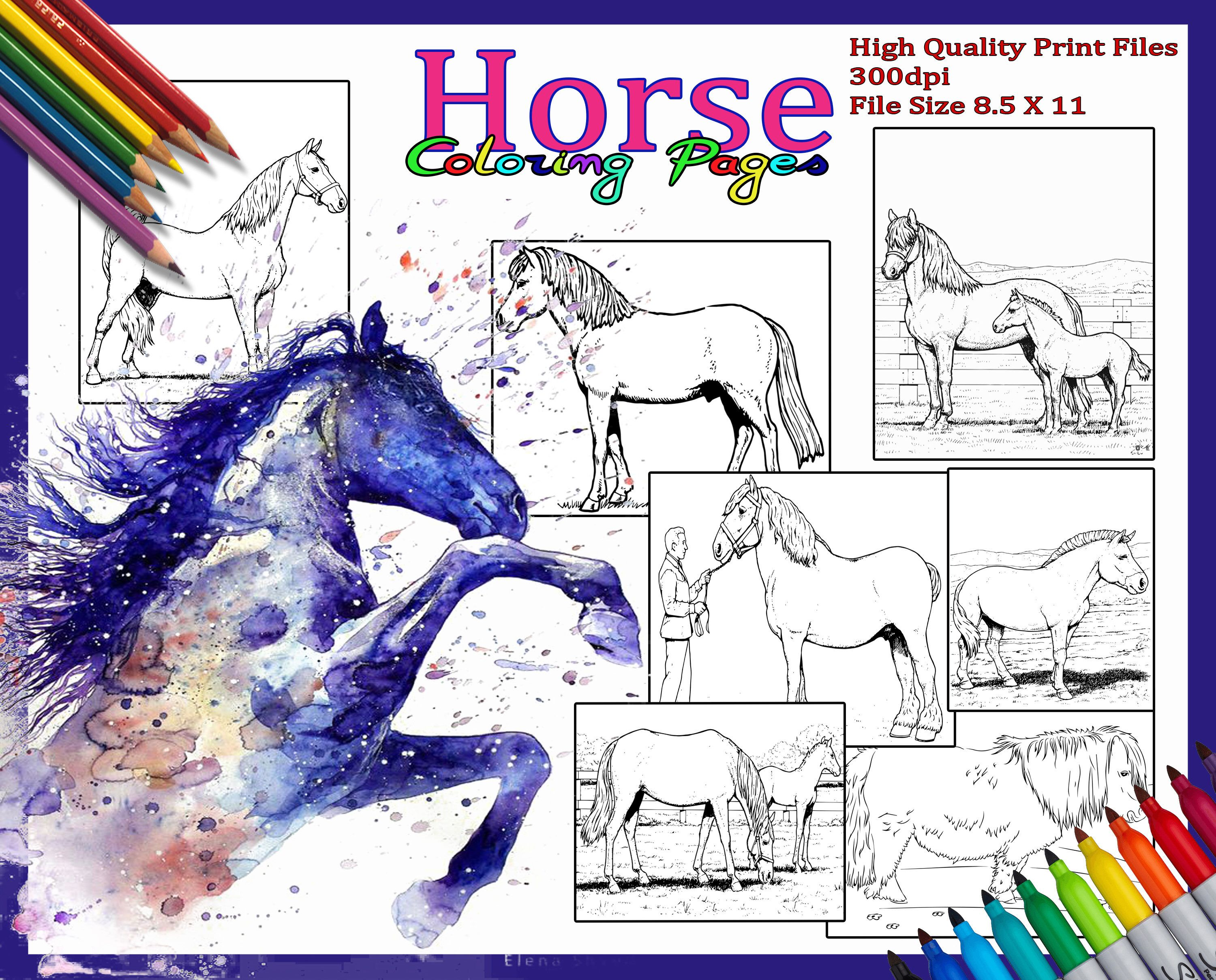 Horse Coloring Pages Animal Coloring Pages Coloring Pages