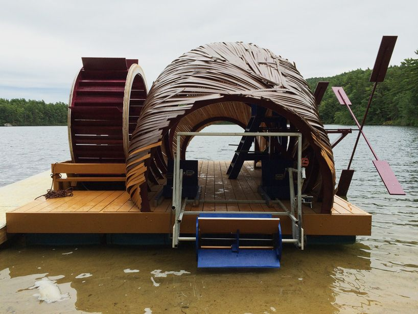 Floating Creatura Project Constructed By Summer Camp Kids With