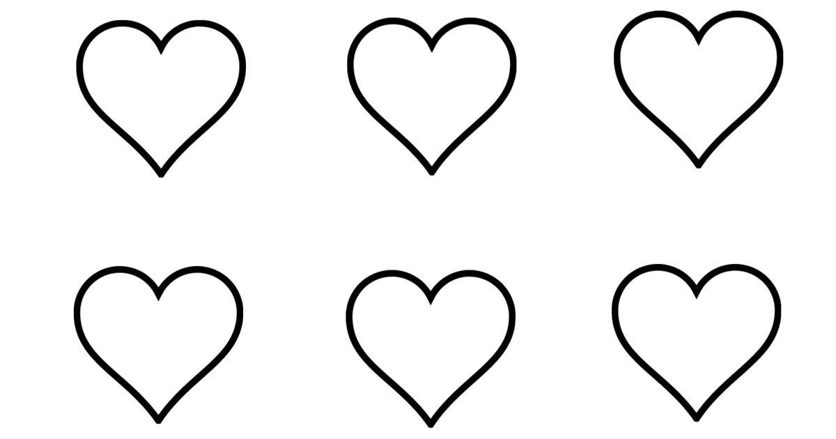 Heart Macaron Template Compliments of NatashasKitchen.com