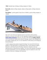Roof problems are one of the most common problems in construction.  <a href=