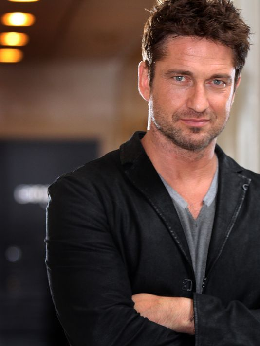 gerard butler and morgan brown