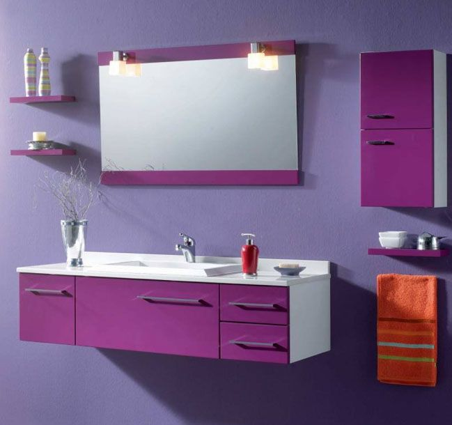 Muebles de ba o con color para m s informaci n ingresa for Muebles de bano bonitos