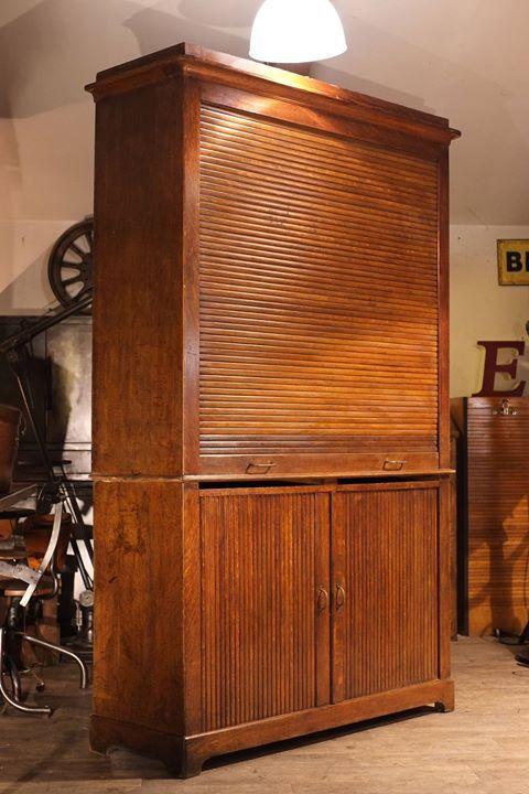 meuble de metier a rideaux ancien en chene plus d\u0027info sur