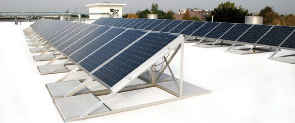 white roof and solar panels sustainable building project rh pinterest ca