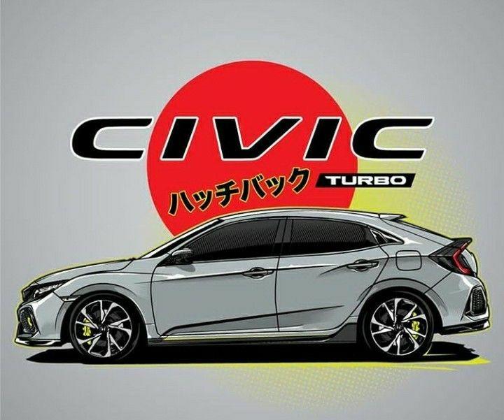 Honda Civic รถแต ง รถยนต อะน เมะ