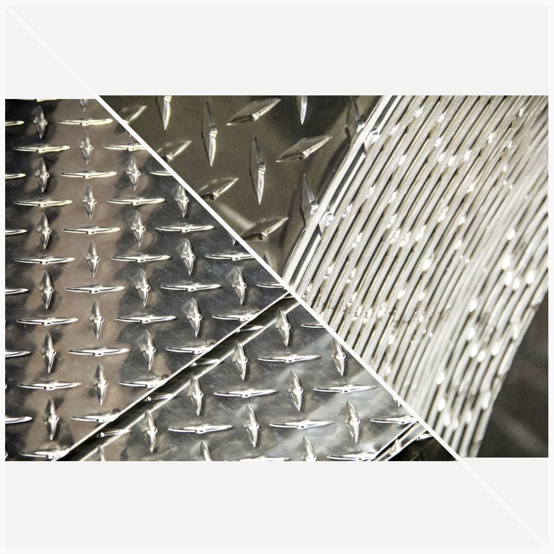 Aluminum Diamond 3003 Tread Plate Sheet 0 100 X 12 X 36 In 2020 Aluminum Aluminium Sheet Sheet