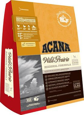 Acana Wild Prairie Regional Formula Grain Free Dry Dog Food One