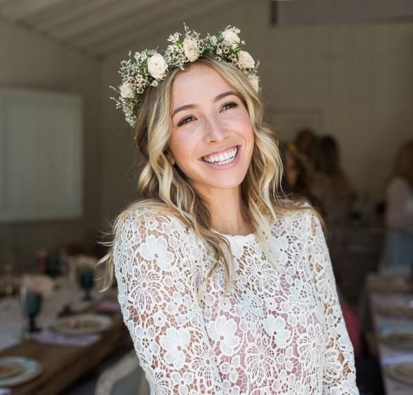Wedding Flowers Crown For Fine Hairstyle: Fresh Flower Crowns Los Angeles