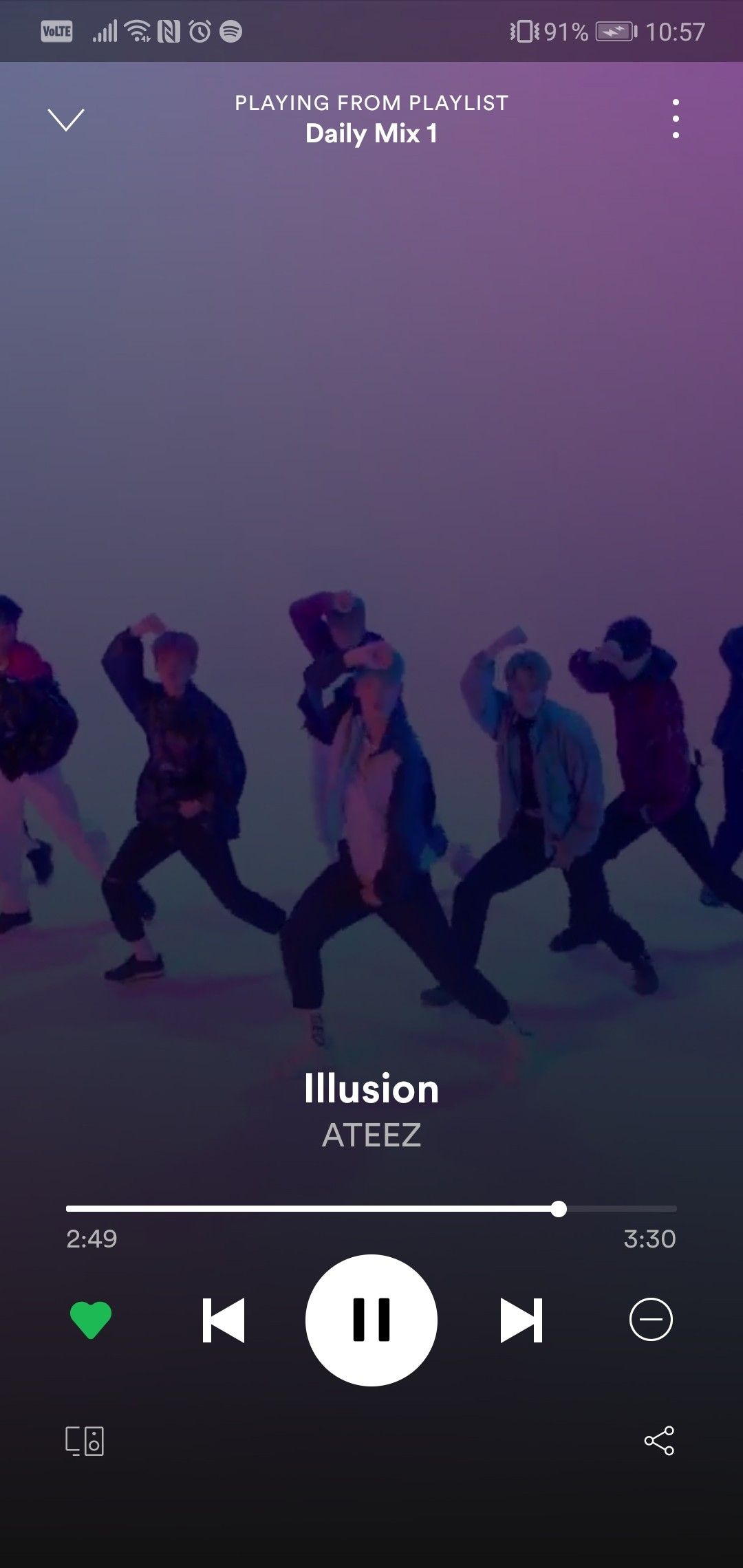 ateez kpop spotify illusion Song playlist, Songs