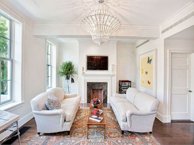 Dueling Couchesfor A Little Living Room With A Fireplace Endearing Little Living Room Design 2018