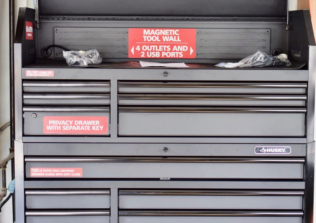 Husky Tool Chest Cabinet A 52 Tool Box You Need In Your Shop Tool Chest Husky Tool Box Tools