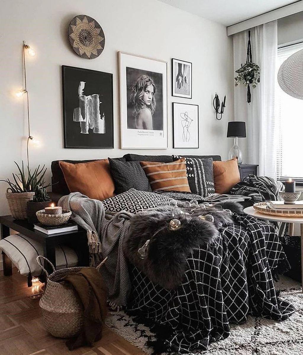 Beautiful Eclectic Bedroom Decor Ideas Bohemianbedroom Eclectic