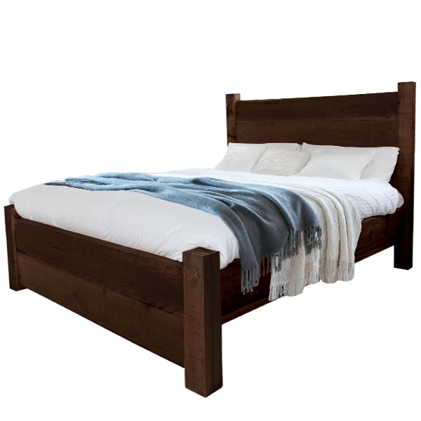 Beam High Back Reclaimed Wood Bed Reclaimed Wood Beds Reclaimed