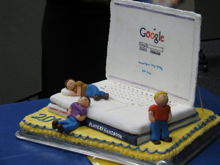 computer-laptop-google-technology-theme-cakes-cupcakes ...