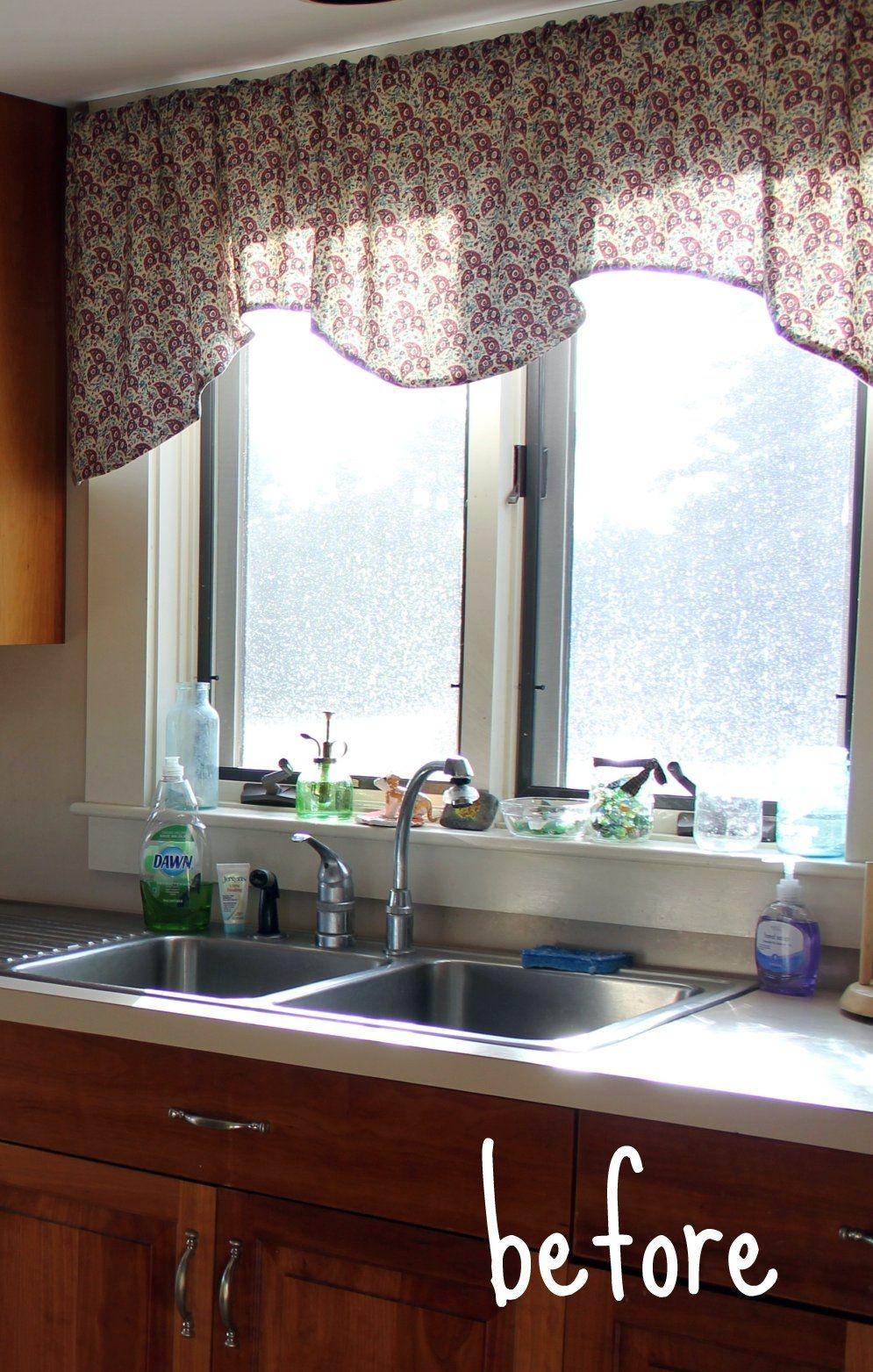 Beste Küche Fenster Behandlungen Über Waschbecken Küchen Der ...