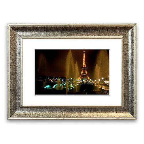 East Urban Home Gerahmter Fotodruck Brunnen und Eiffelturm | Wayfair.de #eiffeltower