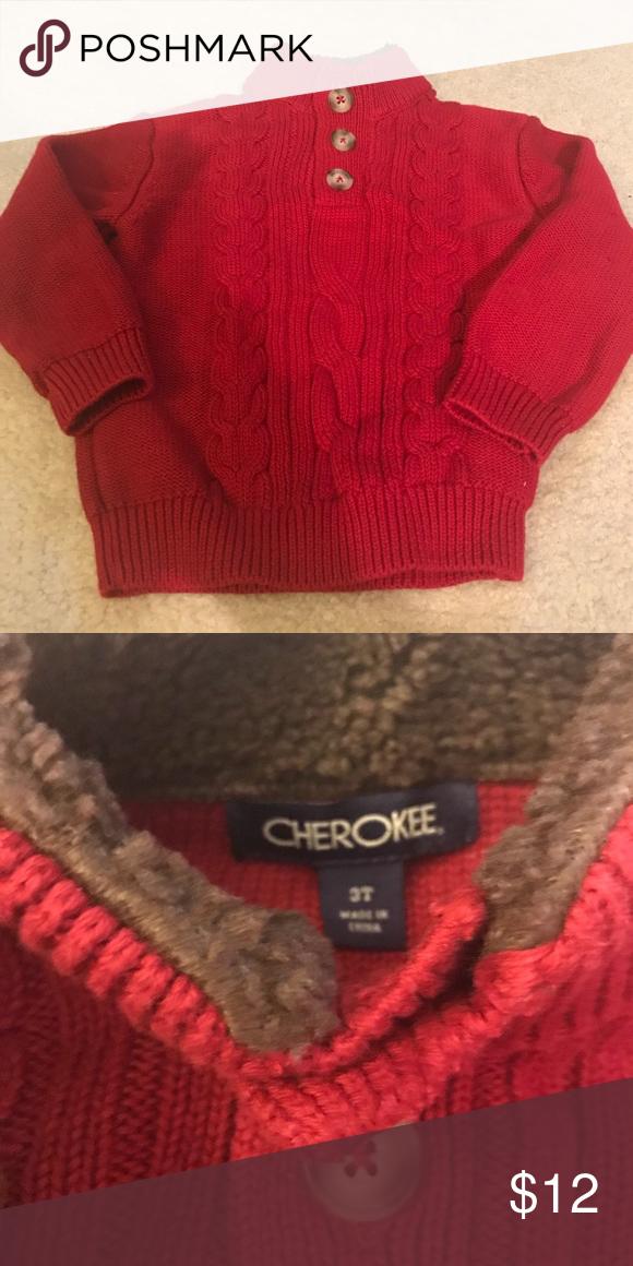 Toddler Boys Cherokee Red Sweater My Posh Closet Pinterest Red