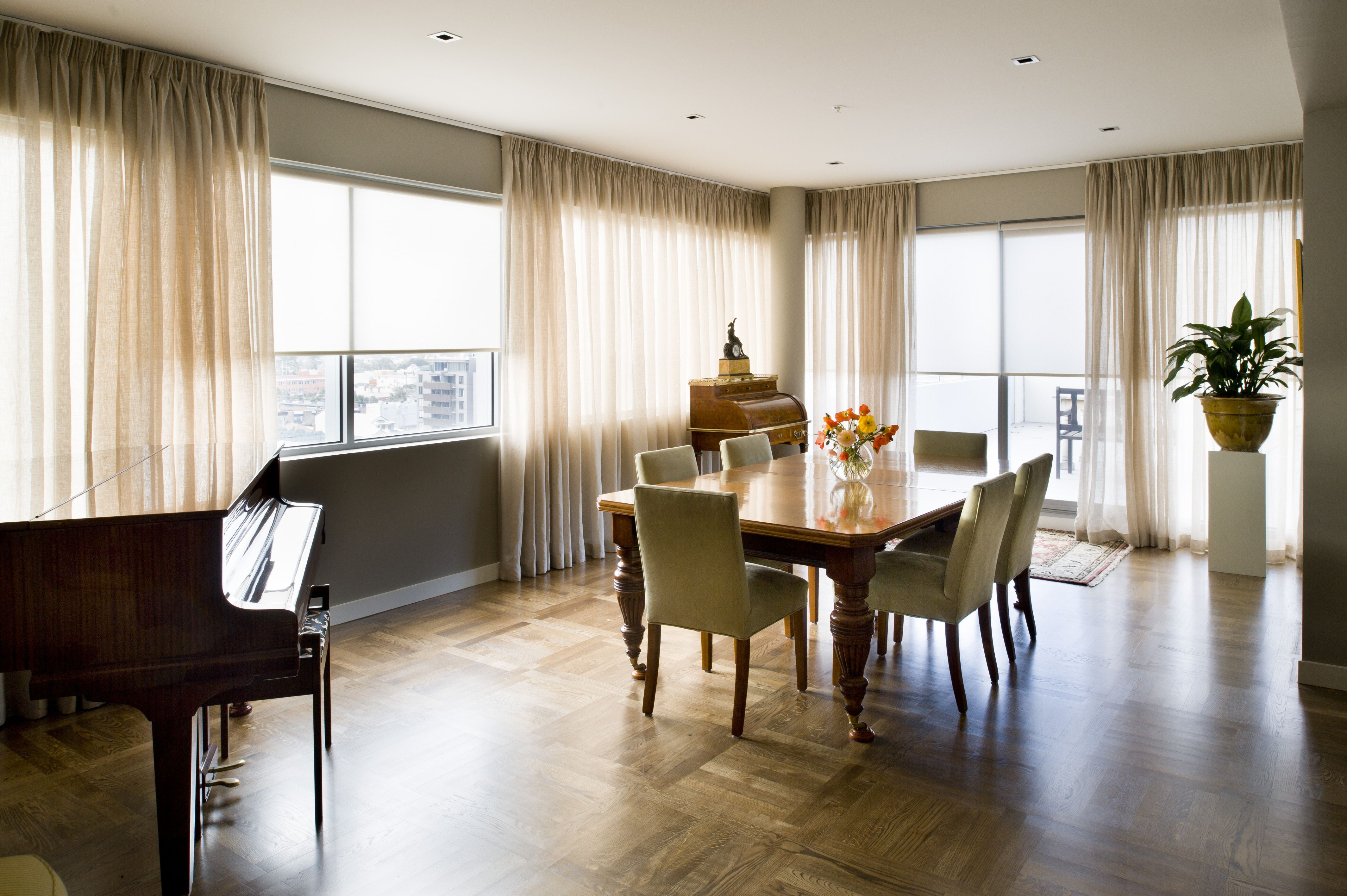 Sheer Curtains Offering A Soft Filtered View With