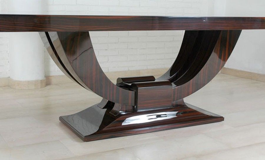 Art Deco Dining Table furniture Pinterest – Art Dining Room Furniture