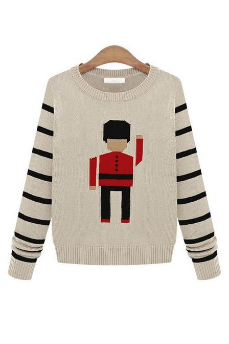747e156e9a820 toy soldier sweater Boys Sweaters