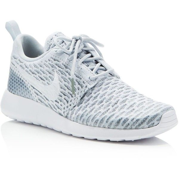 7b492e1f21a28 Nike Womens Roshe One Flyknit Sneakers ( 120) ❤ liked on Polyvore featuring  shoes