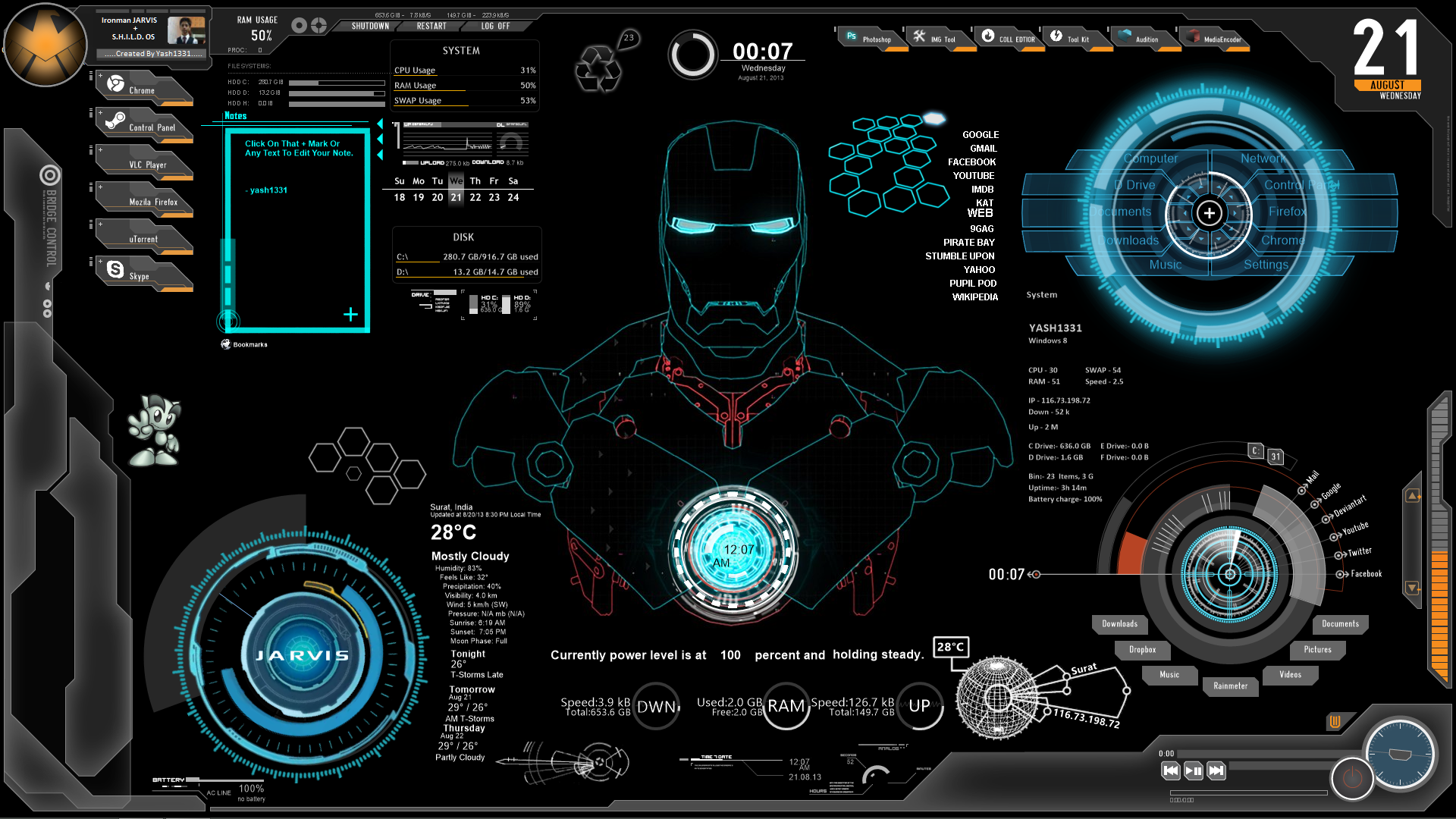 Ironman J A R V I S O S By Yash1331 On Deviantart Iron Man Wallpaper Iron Man Theme Iron Man Hd Wallpaper