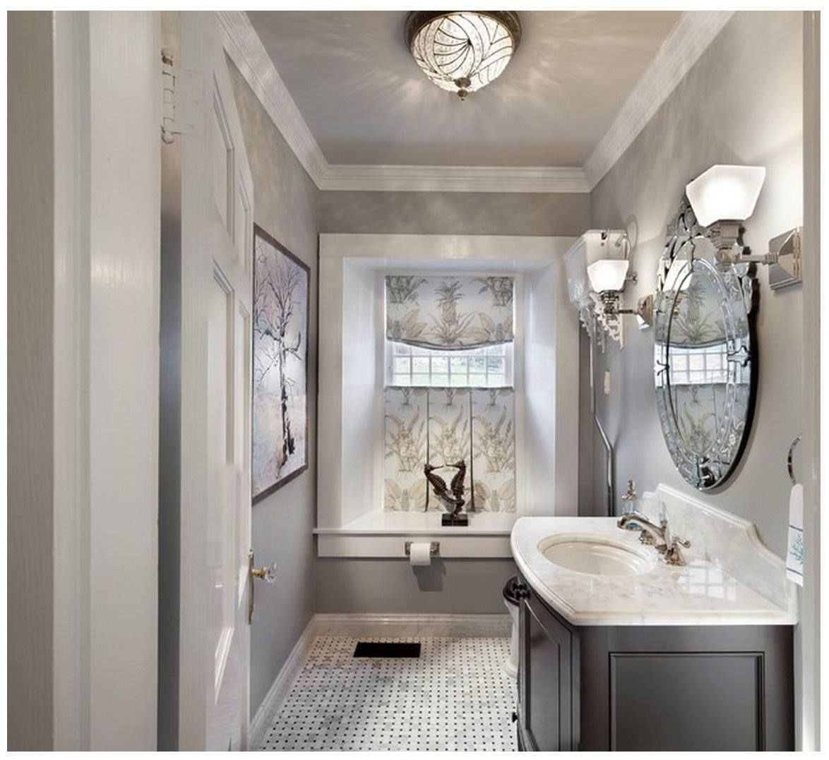 Rockport Gray Kitchen: Love This Bathroom Color! It's Rockport Gray By Benjamin