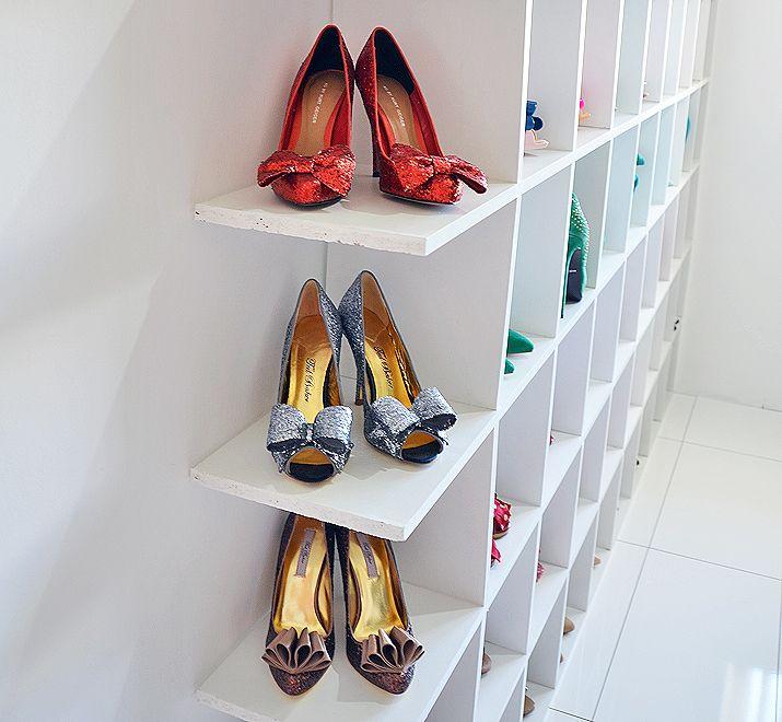 Shoeper Shoe Shelves Mark 2! Shoe wall, Shelves and Storage ideas