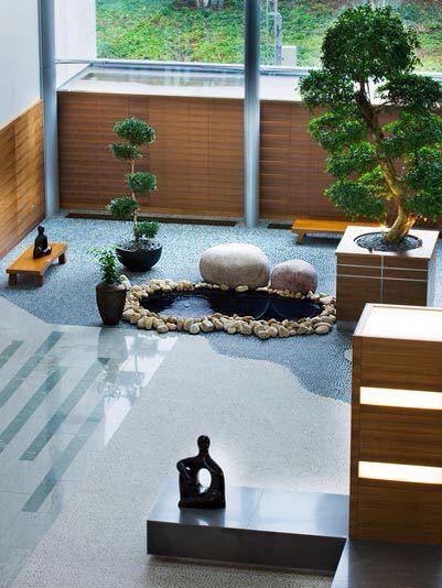 Jardin Zen Interior Zen In 2018 Pinterest Zen Jardines Zen - Jardin-interior-zen